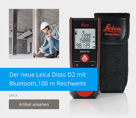 Leica Disto D2 mit Bluetooth