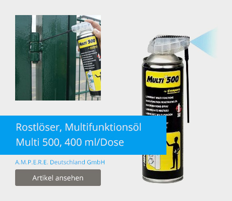 Rostlöser, Multifunktionsöl Multi 500, 400 ml/Dose